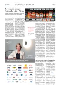 Pressebericht aus Lebensmittel Zeitung vom 4. Dezember 2020